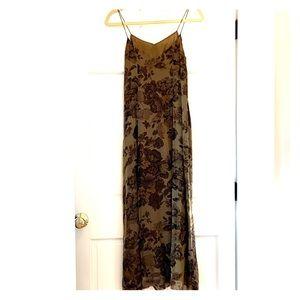 Banana Republic Silk dress.